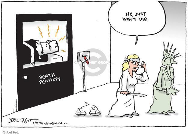 Joel Pett  Joel Pett's Editorial Cartoons 2014-05-04 punishment