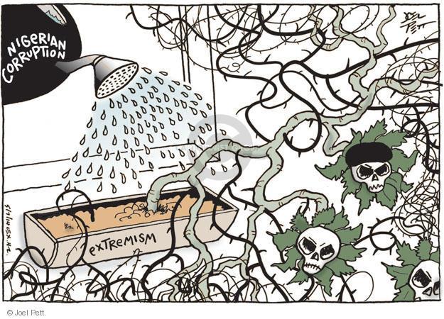Cartoonist Joel Pett  Joel Pett's Editorial Cartoons 2014-05-07 political corruption