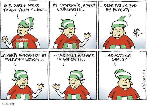 Joel Pett  Joel Pett's Editorial Cartoons 2014-05-09 answer