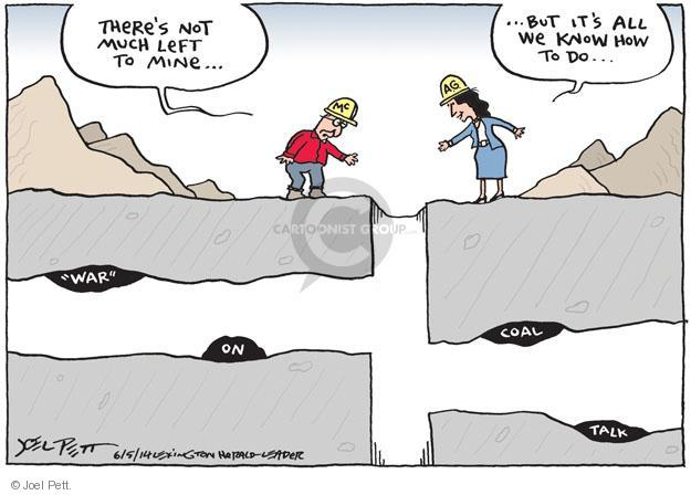 Joel Pett  Joel Pett's Editorial Cartoons 2014-06-05 Mitch McConnell