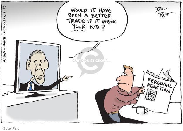 Cartoonist Joel Pett  Joel Pett's Editorial Cartoons 2014-06-11 strategy