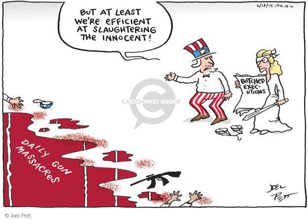 Joel Pett  Joel Pett's Editorial Cartoons 2014-06-13 punishment