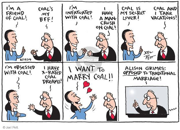 Cartoonist Joel Pett  Joel Pett's Editorial Cartoons 2014-06-15 traditional
