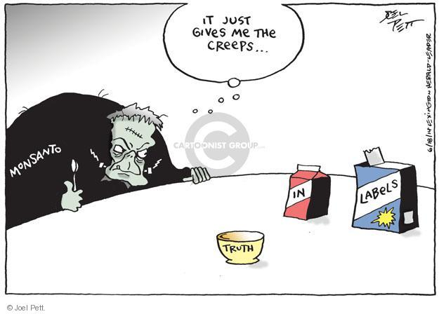Cartoonist Joel Pett  Joel Pett's Editorial Cartoons 2014-06-18 agriculture