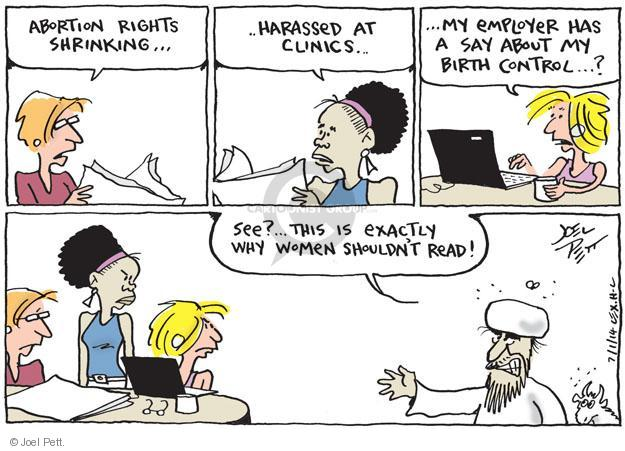 Joel Pett  Joel Pett's Editorial Cartoons 2014-07-01 woman