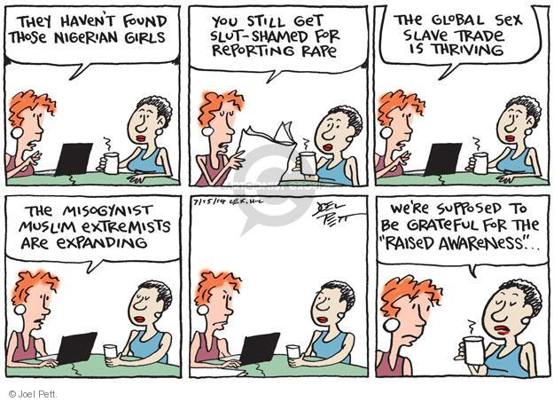 Cartoonist Joel Pett  Joel Pett's Editorial Cartoons 2014-07-15 suppose