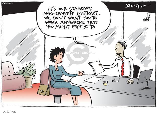 Joel Pett  Joel Pett's Editorial Cartoons 2014-07-16 employment work