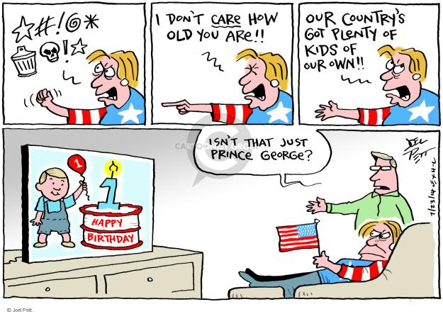 Cartoonist Joel Pett  Joel Pett's Editorial Cartoons 2014-07-23 refuge