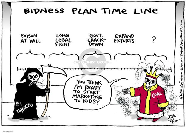 Joel Pett  Joel Pett's Editorial Cartoons 2014-07-30 business