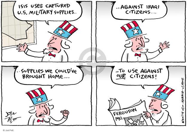 Joel Pett  Joel Pett's Editorial Cartoons 2014-08-20 supply