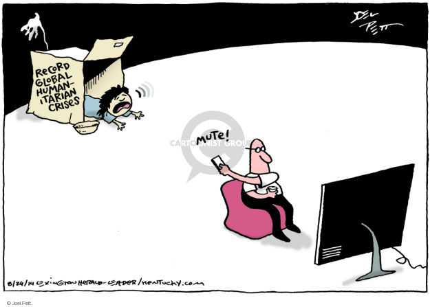 Joel Pett  Joel Pett's Editorial Cartoons 2014-08-24 foreign policy