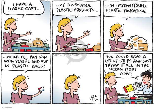 Joel Pett  Joel Pett's Editorial Cartoons 2014-08-28 shopper
