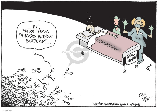 Joel Pett  Joel Pett's Editorial Cartoons 2014-09-17 health