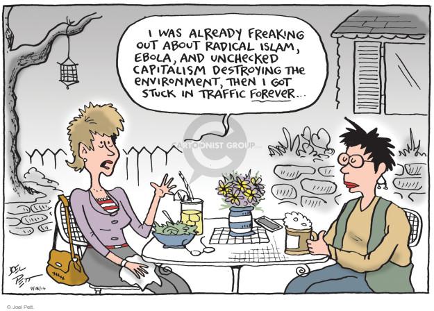 Joel Pett  Joel Pett's Editorial Cartoons 2014-09-18 infectious disease