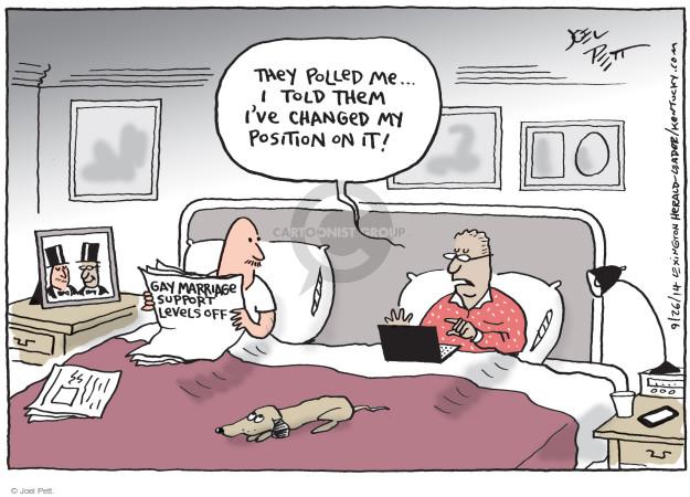 Joel Pett  Joel Pett's Editorial Cartoons 2014-09-26 change
