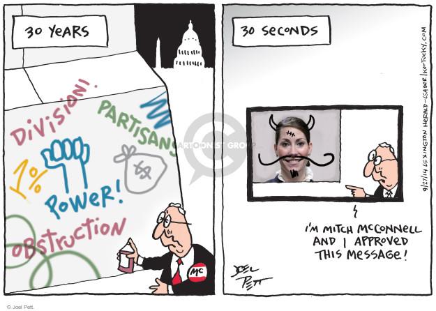 Cartoonist Joel Pett  Joel Pett's Editorial Cartoons 2014-09-28 minority