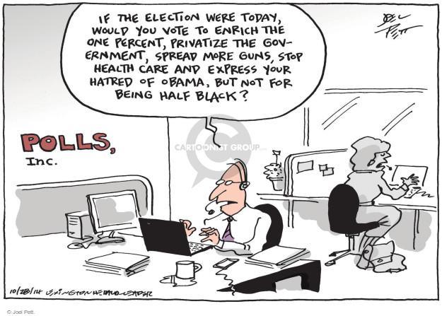 Joel Pett  Joel Pett's Editorial Cartoons 2014-10-28 voting rights act