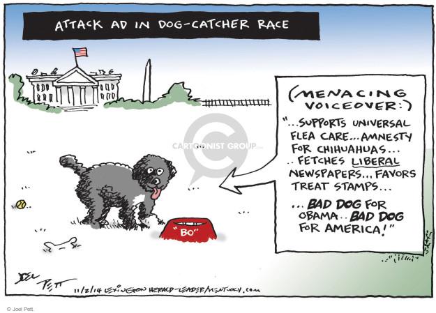 Joel Pett  Joel Pett's Editorial Cartoons 2014-11-02 accusatory