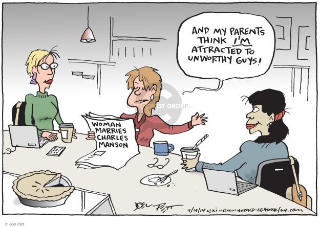 Joel Pett  Joel Pett's Editorial Cartoons 2014-11-19 parent