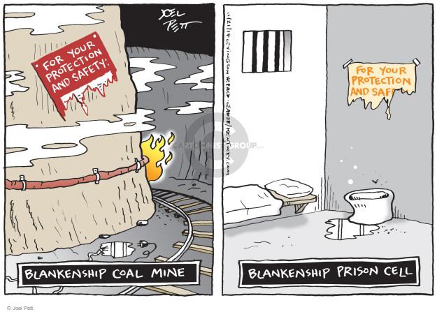 Joel Pett  Joel Pett's Editorial Cartoons 2014-11-21 mining safety