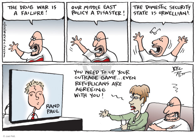 Cartoonist Joel Pett  Joel Pett's Editorial Cartoons 2014-11-23 middle