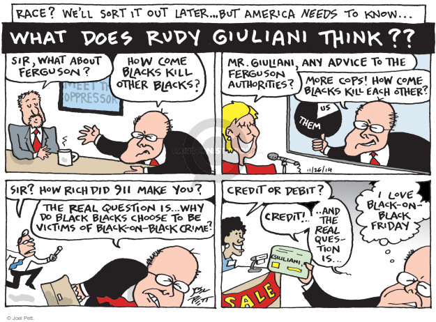 Joel Pett  Joel Pett's Editorial Cartoons 2014-11-26 answer