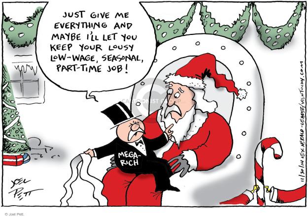 Joel Pett  Joel Pett's Editorial Cartoons 2014-11-30 income equality