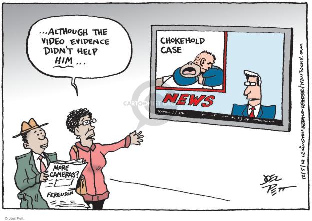 Cartoonist Joel Pett  Joel Pett's Editorial Cartoons 2014-12-05 case