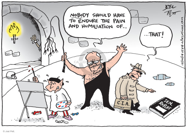 Cartoonist Joel Pett  Joel Pett's Editorial Cartoons 2014-12-10 post