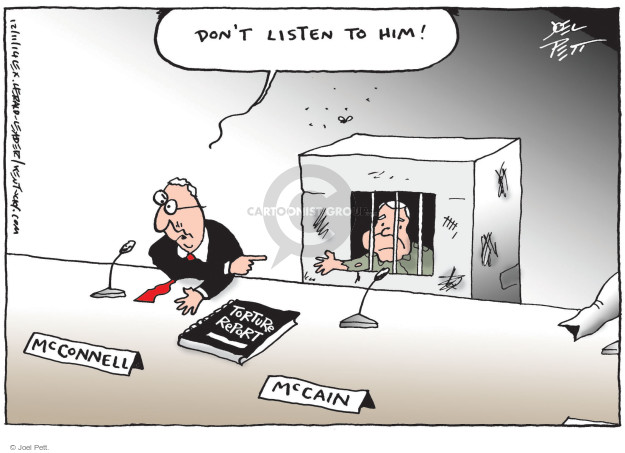 Cartoonist Joel Pett  Joel Pett's Editorial Cartoons 2014-12-11 post