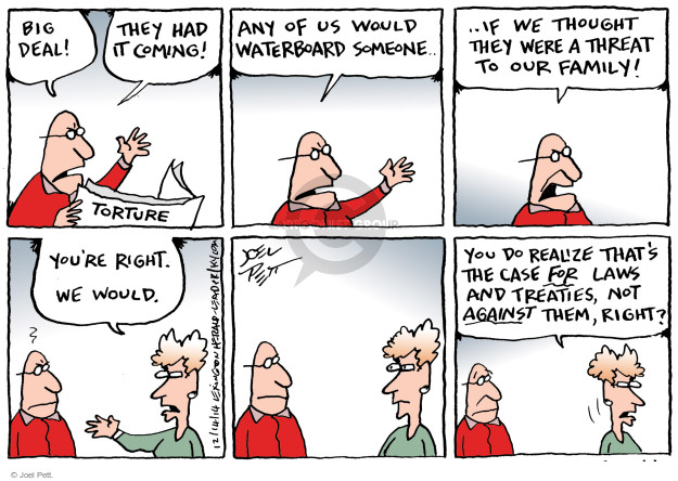 Cartoonist Joel Pett  Joel Pett's Editorial Cartoons 2014-12-14 post