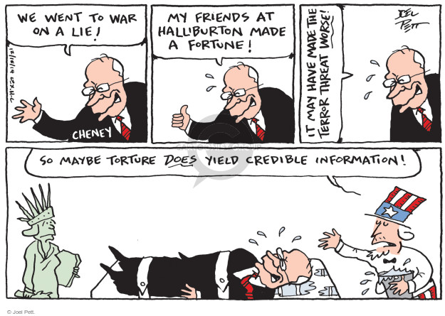 Cartoonist Joel Pett  Joel Pett's Editorial Cartoons 2014-12-16 post