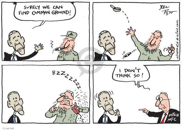 Joel Pett  Joel Pett's Editorial Cartoons 2014-12-19 Mitch McConnell