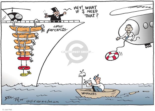 Cartoonist Joel Pett  Joel Pett's Editorial Cartoons 2015-01-21 bailout