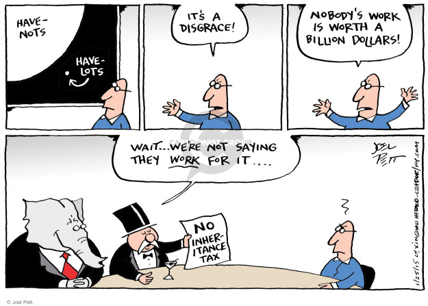 Joel Pett  Joel Pett's Editorial Cartoons 2015-01-24 republican politician