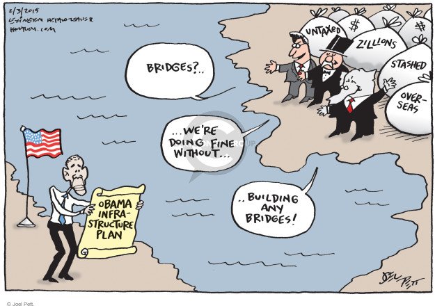 Cartoonist Joel Pett  Joel Pett's Editorial Cartoons 2015-02-03 building