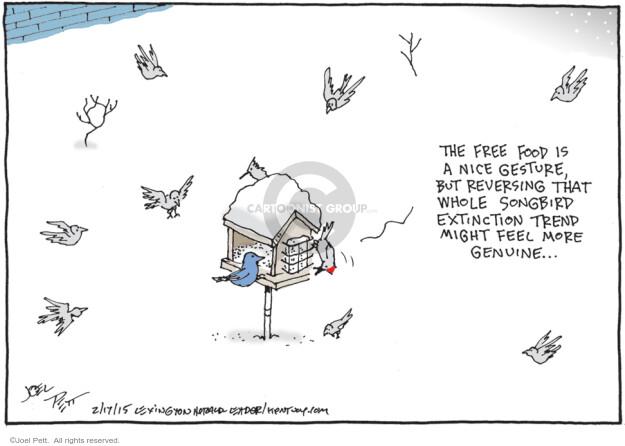 Joel Pett  Joel Pett's Editorial Cartoons 2015-02-17 more