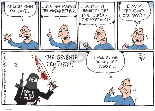Cartoonist Joel Pett  Joel Pett's Editorial Cartoons 2015-02-20 terror