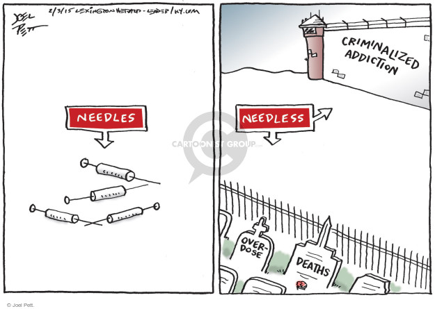 Joel Pett  Joel Pett's Editorial Cartoons 2015-03-03 drug