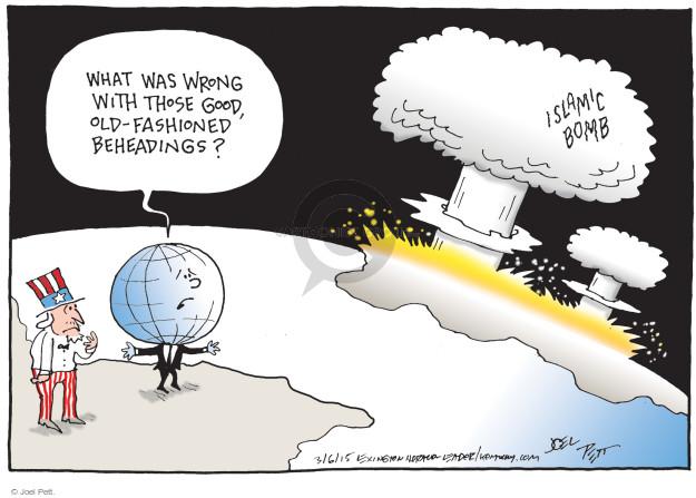 Joel Pett  Joel Pett's Editorial Cartoons 2015-03-06 deal