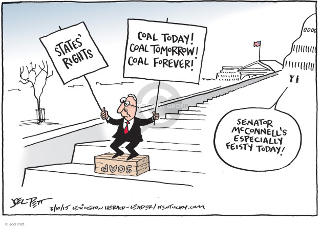 Joel Pett  Joel Pett's Editorial Cartoons 2015-03-10 regulatory