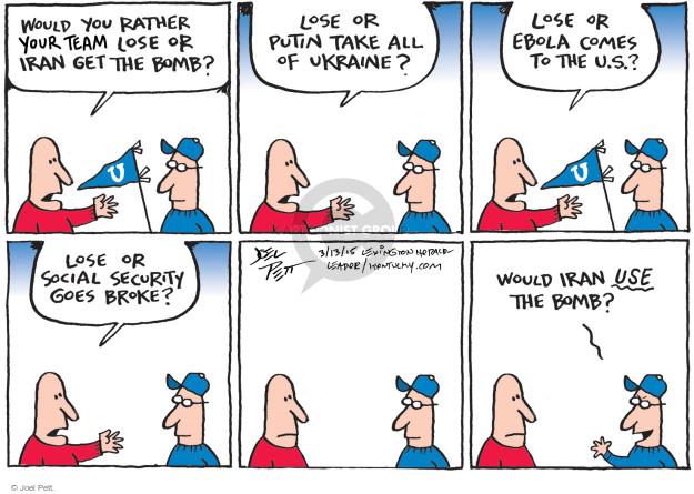 Joel Pett  Joel Pett's Editorial Cartoons 2015-03-12 Ukraine