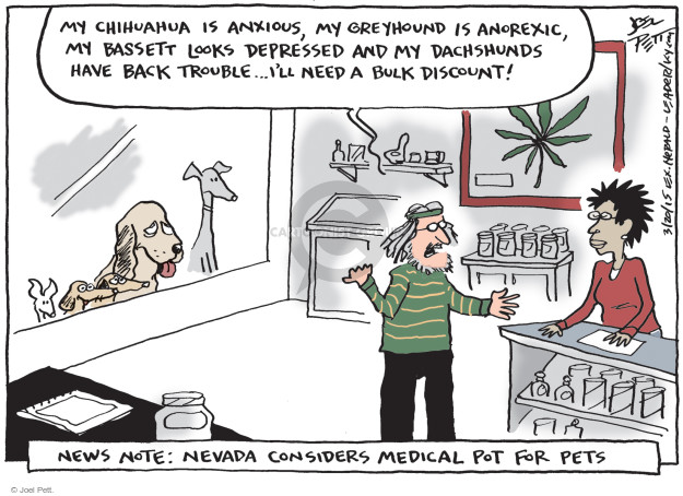 Cartoonist Joel Pett  Joel Pett's Editorial Cartoons 2015-03-20 Nevada