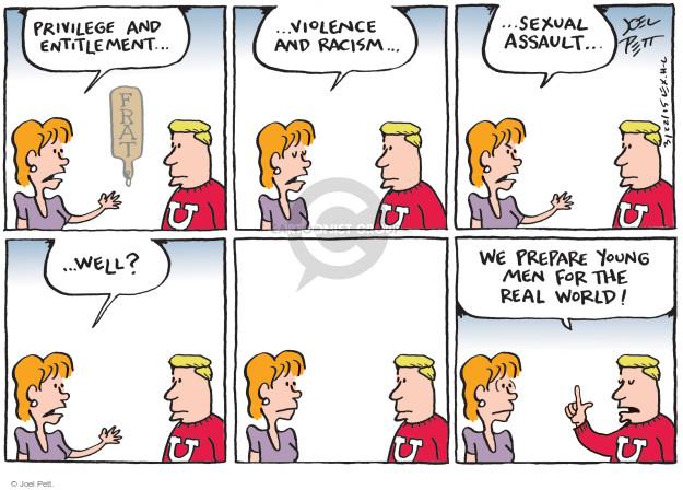Joel Pett  Joel Pett's Editorial Cartoons 2015-03-22 racism
