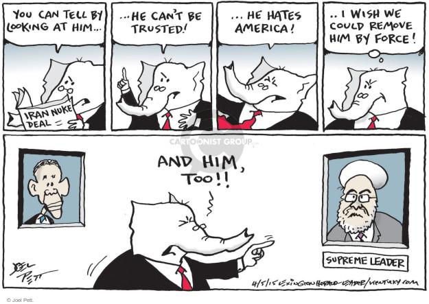 Cartoonist Joel Pett  Joel Pett's Editorial Cartoons 2015-04-05 state
