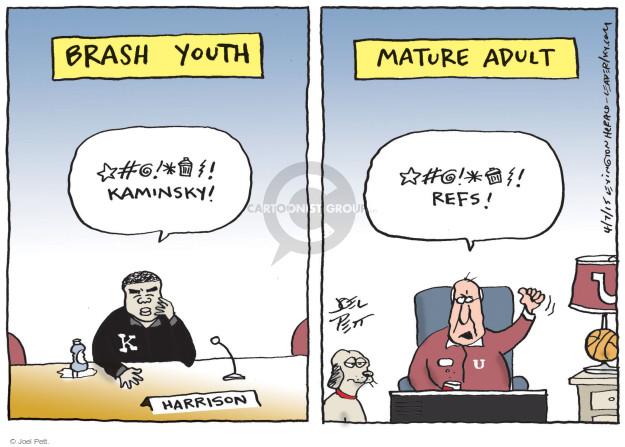 Cartoonist Joel Pett  Joel Pett's Editorial Cartoons 2015-04-07 youth