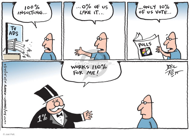 Joel Pett  Joel Pett's Editorial Cartoons 2015-05-17 percentage