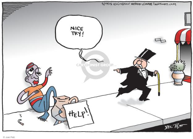 Joel Pett  Joel Pett's Editorial Cartoons 2015-05-19 wealth