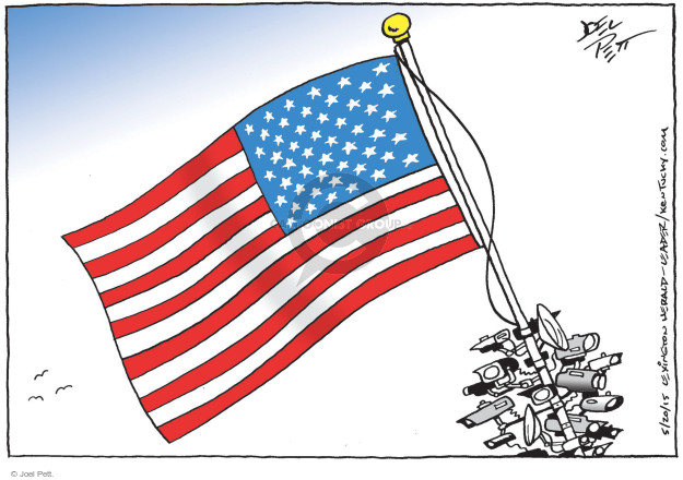Joel Pett  Joel Pett's Editorial Cartoons 2015-05-20 United States