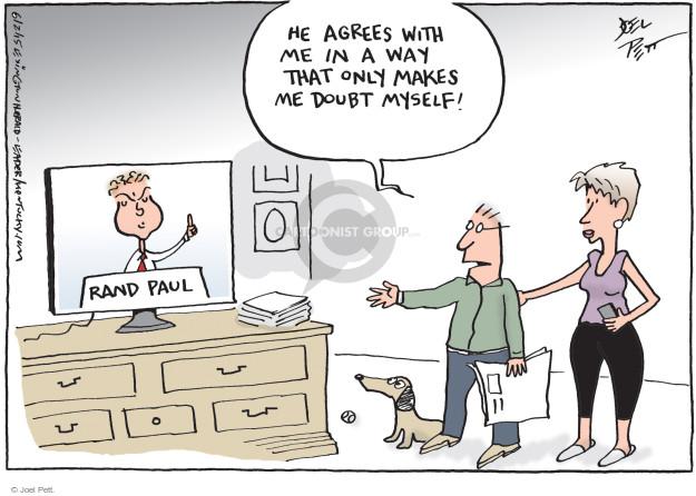 Cartoonist Joel Pett  Joel Pett's Editorial Cartoons 2015-06-02 data